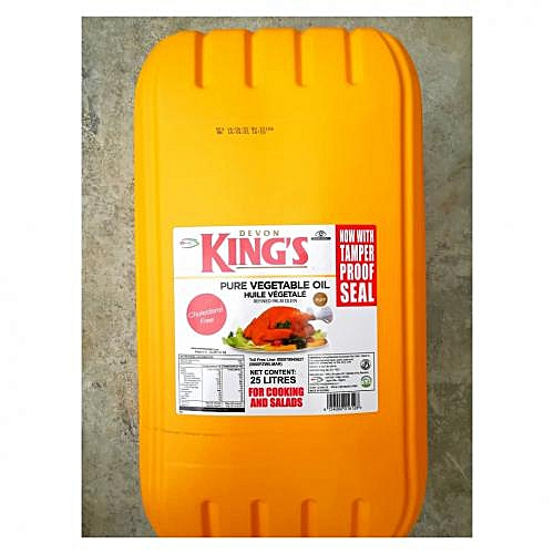 King's Vegetable Cooking Oil - 25 Litres