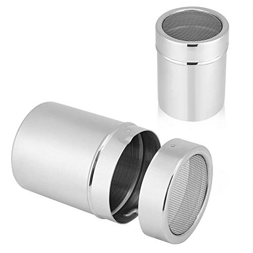SHANYU Kitchen Stainless Steel Chocolate Shaker Cocoa Coffee Powder Mesh Dispenser