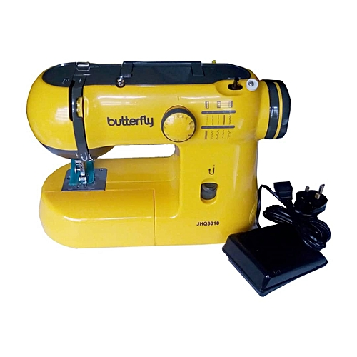 Butterfly Sewing Machine Electric Portable Detachable Table/accessory Box
