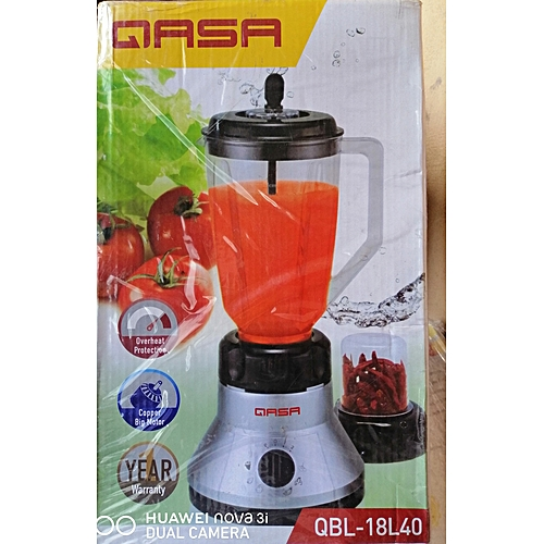 Electric Blender & Grinder With Mill