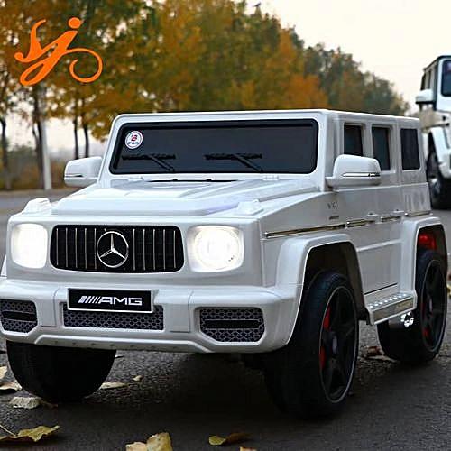 Latest 2019 Children Ride On Car Mercedes G65 (white)