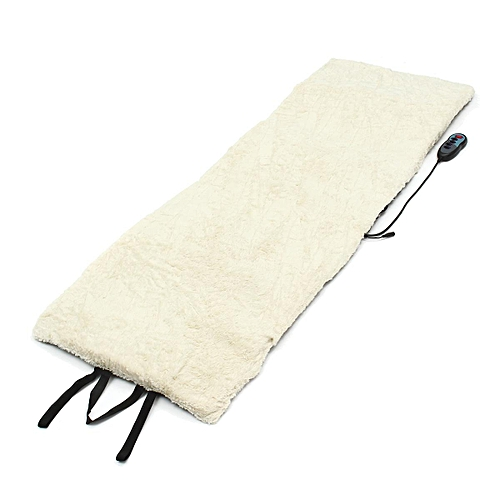 EARTHLITE Fleece Massage Table Warmer - Fleece Pad, Dual Heat Settings, Elastic