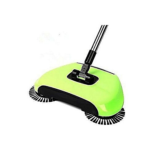 Magic Sweeper 360 Degree Rotation Spin Broom!! Hand Push Hard Floor Sweeping Device - For Home & Offices (NO Electricity/Noise)