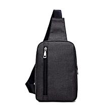 Singedanmen  039 s Chest Bag Messenger Bag Casual Canvas Small Backpack Bag  Shoulder Bag 5206679b5a264