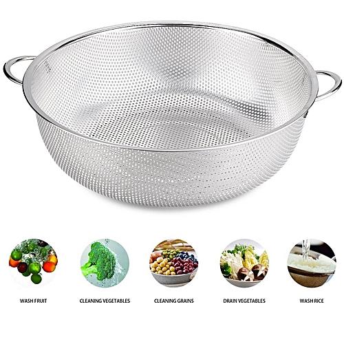 34.5cm Stainless Steel Colander Bowl