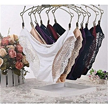 fd1e326398c2 Beautiful Soft Lace & Cotton Sexy Ladies Panties 6pcs