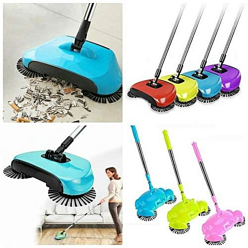 Magic Sweeper Spin Broom & Vacuum Cleaner - Colour May Vary