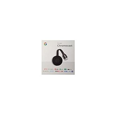 Chromecast-2018 - Digital HD Media Streamer - Black