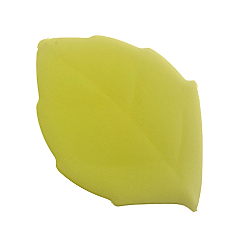 Soft Silicone Leaf Shape Water Drink Pocket Cup Green
