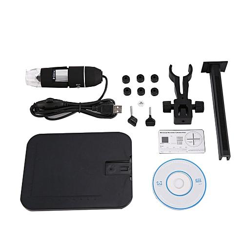 Handheld Mini Magnifier Portable Lightweight Durable Digital Magnifier Black