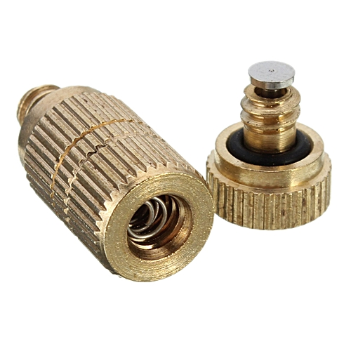 0.3mm Brass Misting Nozzles For Cooling System Humidification Sprayer