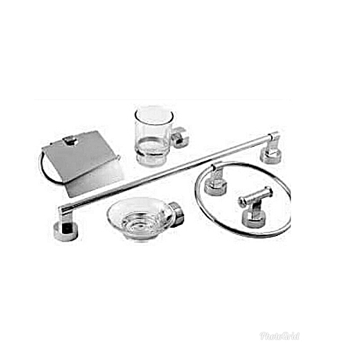 Toilet Accessories 6 Piece Set