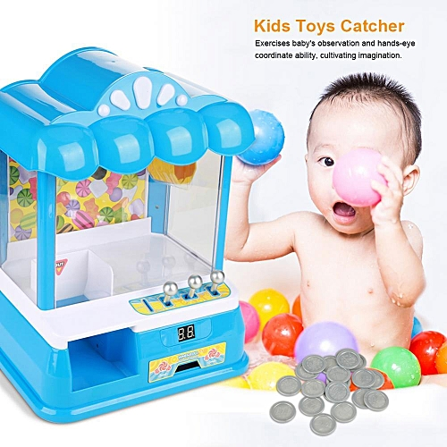 Kids Interesting Mini Toys Catcher Machine Children Electronic Dolls Game Toy