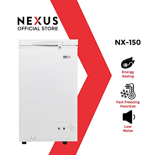100-Litre Chest Freezer NX-150H - White