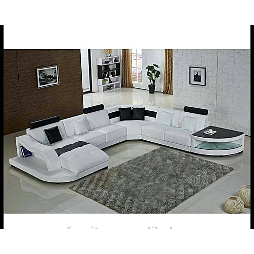 CP Executive White 7 Seater Sectional Sofa Delivery Only In Lagos