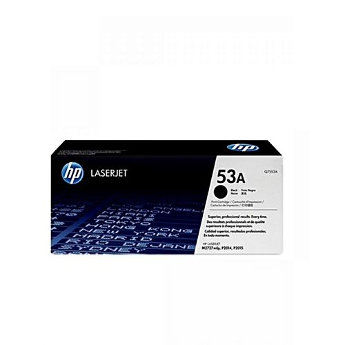 53A Black LaserJet Toner Cartridge (Q7553A)