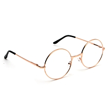 0c8355c3f0b1b Metal Vintage Men Women Clear Lens Eyeglasses Retro Round Frame Eye Glasses  Lens