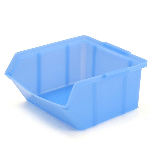 Plastic Rack Wall Mounted Box Drawer Storage Organizer Rack Garage Tools Bin