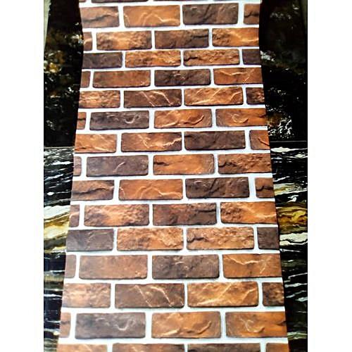 Brick Wallpaper - 5.3 SQM