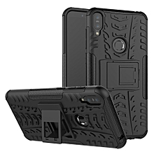 For Zenfone Max Pro M1 ZB601KL Case, 3 In 1 Tyre Grain Cobwebs Shock-proof Throw-proof Housing With Foldable Stand Holder TPU + PC Back Cover Case For ASUS ZenFone Max Pro (M1) ZB601KL / ZB602KL