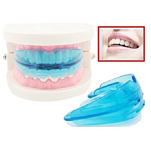 CO Portable Teeth Retainer Durable Dental Braces EVA Alignment Trainer-blue