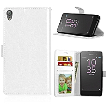 Sony Xperia Z3 - White - Classic, 3 Card Solid Color Mobile Phone Case, Bracket Flip Card for sale  Nigeria