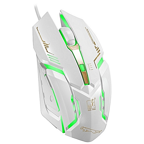 Photoluminescence USB Game Mouse Computer Accessories-White
