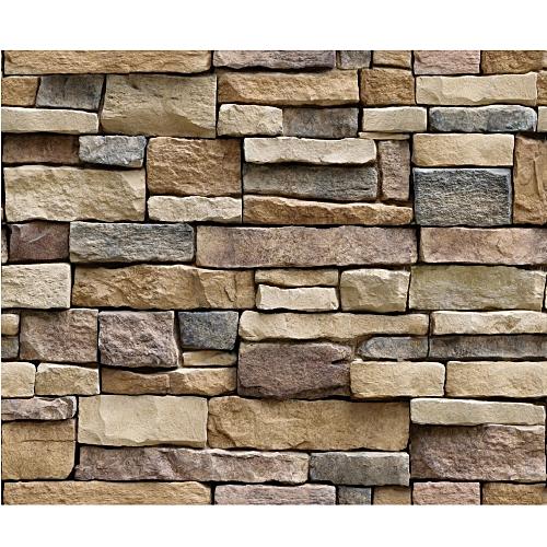 generic 3d wall paper brick stone rustic effect self adhesive wall
