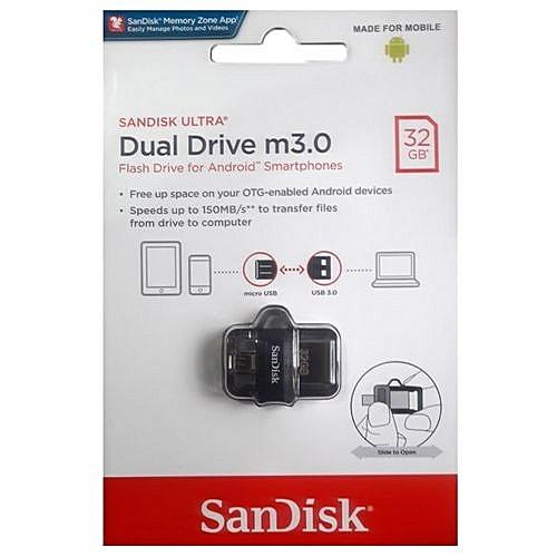 32GB Ultra OTG Dual USB Flash Drive