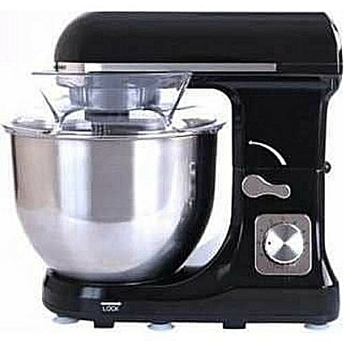 5.2L Prestige Industrial Stand Mixer-1000W-BLACK/RED