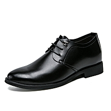 Oxfords Shoes Men Lace Up Round Toe Black Formal Shoes for sale  Nigeria