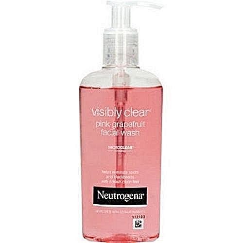 Neutrogena Visibly Clear Pink Grapefruit Facial Wash Acne Treatment