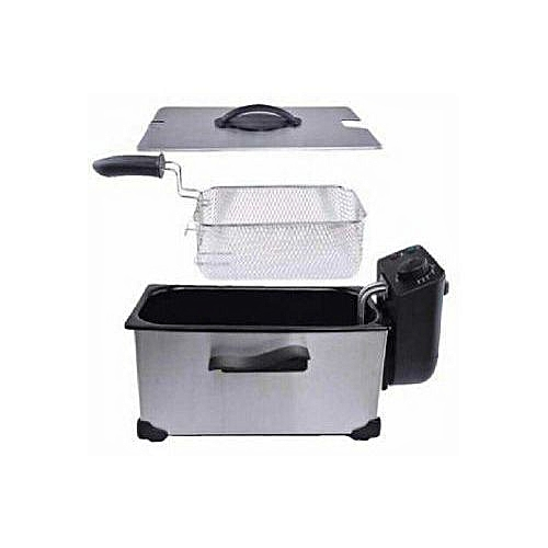 Kitchen Stainless Steel Electric Square Deep Fryer