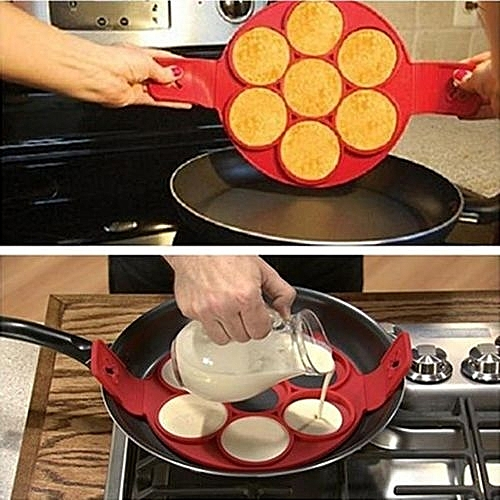 Pancake Pan Tools Perfect Flip Breakfast Maker