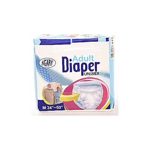 Adult Diapers, Size L -12 Count