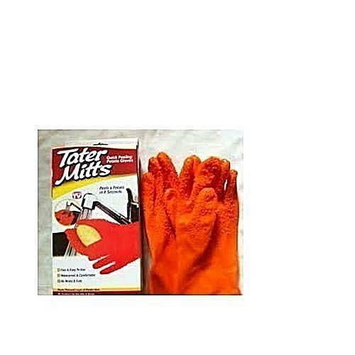 Potato Peeler Gloves,Tater Mitts - Branding May Vary Due To Company's Rebranding