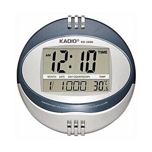 Digital Wall Clock - Round