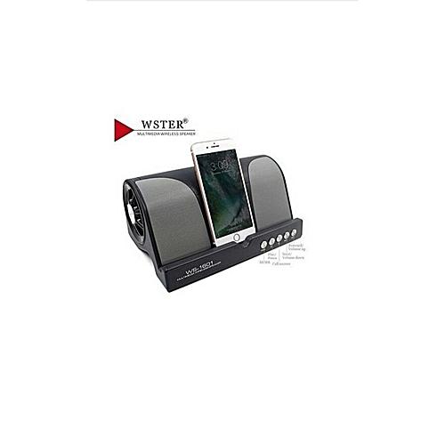 Wster Super Bass Bluetooth Wireless Speaker WS-1601
