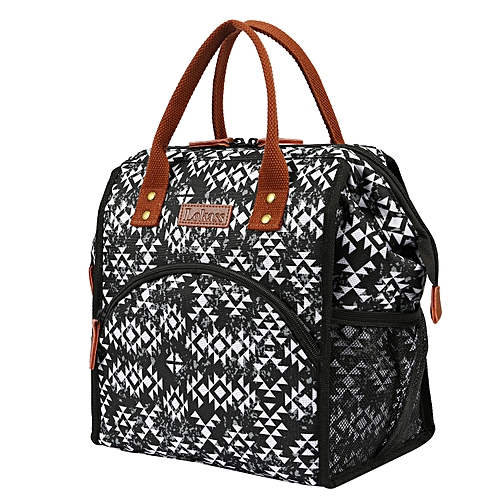 Lunch Bag Insulated Cooler Bag Thermal Bag -diamond Flower