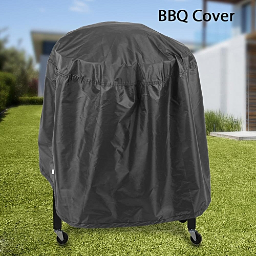 30 Inch BBQ Cover Outdoor Waterproof Barbecue Covers Garden Patio Grill Protector
