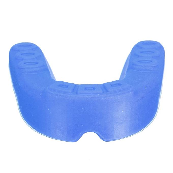 ... Silicone Mouth Guard Gum Shield Boil Bite F. Sports MMA Boxing Basketball Hockey Dark Blue ...