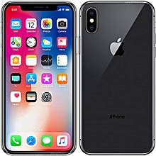 IPhone X 5.8-Inches Super AMOLED (3GB RAM, 256GB ROM) IOS 11.1.1, (12MP + 12MP) + 7MP 4G LTE Smartphone - BLACK