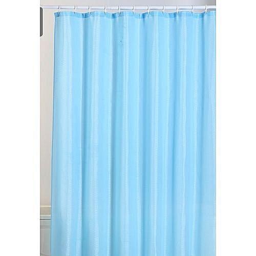 Bath Shower Curtain With Hooks.ANY RANDOM COLOUR ( Suitable For Bathroom)