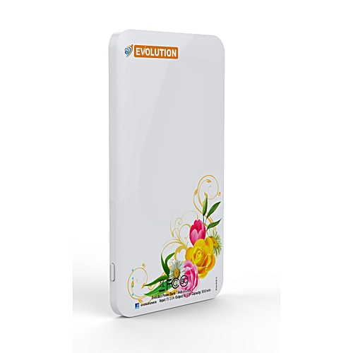 F 5,000mAh Power Bank With Inbuilt And Additional FREE Cable