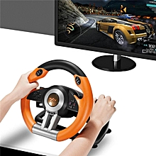 Used, PXN-V3II Steering Wheel Racing Game Controller For PS3 PS4 XBOX ONE PC Support Vibration Function Comes With Pedals (Orange) WWD for sale  Nigeria