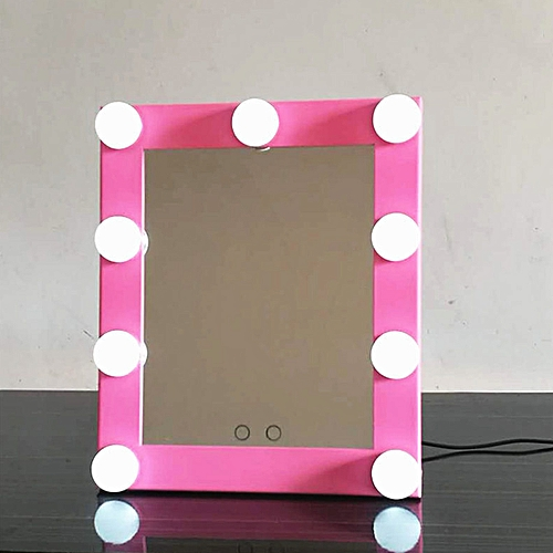 Vanity Lighted Hollywood Makeup Mirror With Lights Dimmer Stage Beauty Touch