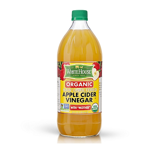 White House Apple Cider Vinegar Organic Raw Unfiltered With 'Mother' 946ml