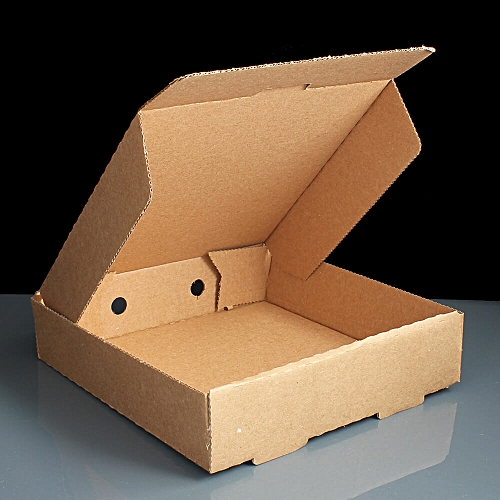 PIZZA BOX Brown ( PLAIN) 7'' - 50 UNITS