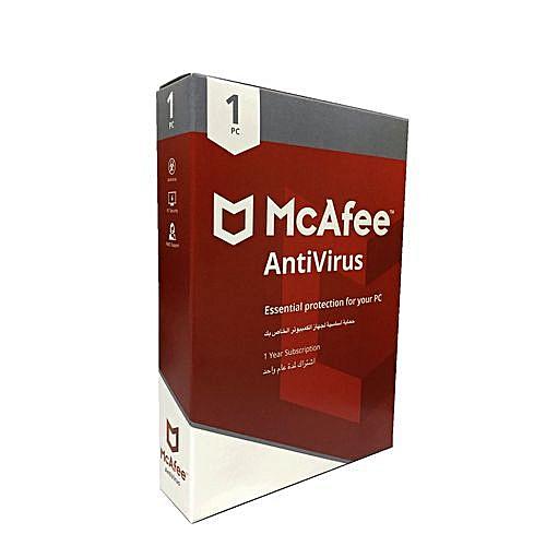 AntiVirus - 1 PC - 1 Year Subcription