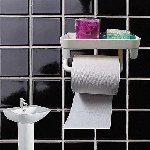 Tissue Holder With Super Strong Adhesive Mount